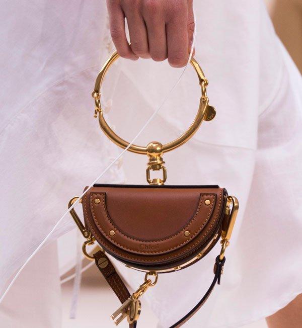 Chloe ring handle bag