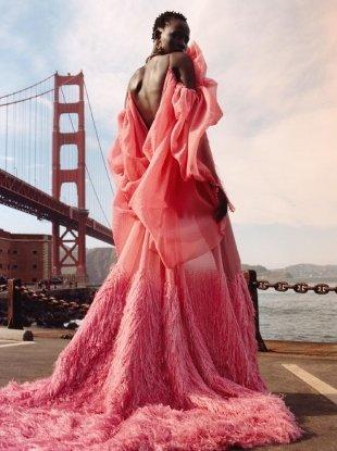 Alexander McQueen F/W 2018.19 by Jamie Hawkesworth