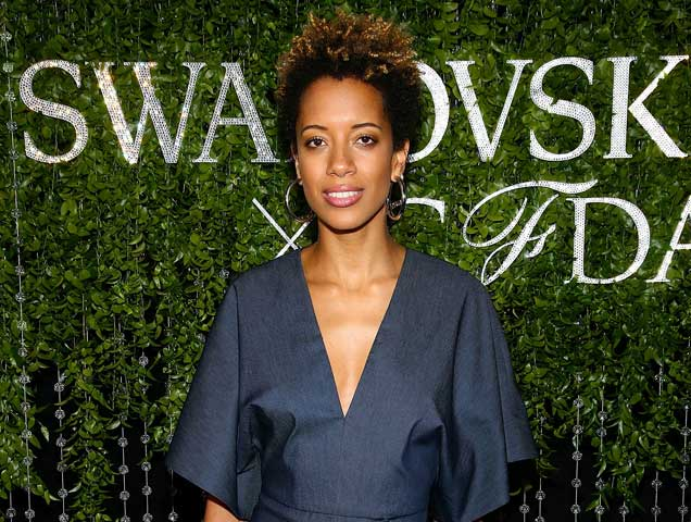 Carly Cushnie at the 2018 CFDA Fashion Awards' Swarovski Award For Emerging Talent Nominee Cocktail Party