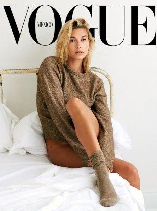 Vogue Mexico September 2018 : Hailey Baldwin by Bjorn Iooss