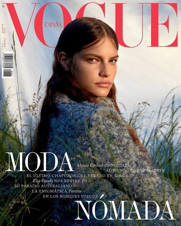 Vogue España August 2018 : Faretta by Camilla Akrans