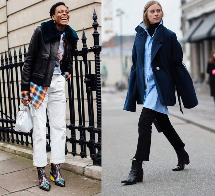 cowboy boots, fall 2018, street style