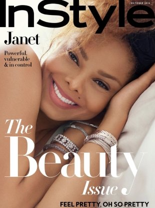 US InStyle October 2018 : Janet Jackson by Robbie Fimmano