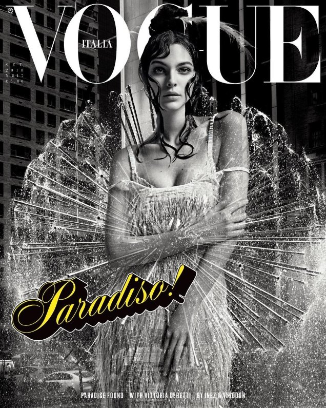 Vogue Italia September 2018 : Vittoria Ceretti by Mert & Marcus, Inez & Vinoodh & Willy Vanderperre