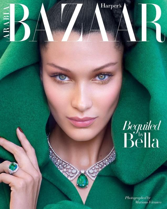 Harper's Bazaar Arabia October 2018 : Bella Hadid by Mariano Vivanco