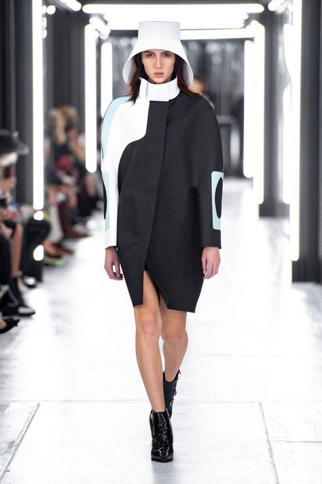 Teddy Quinlivan at Louis Vuitton Spring 2019.