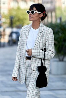 20 New Ways to Do Pantsuits, According to the Street Style Crowd