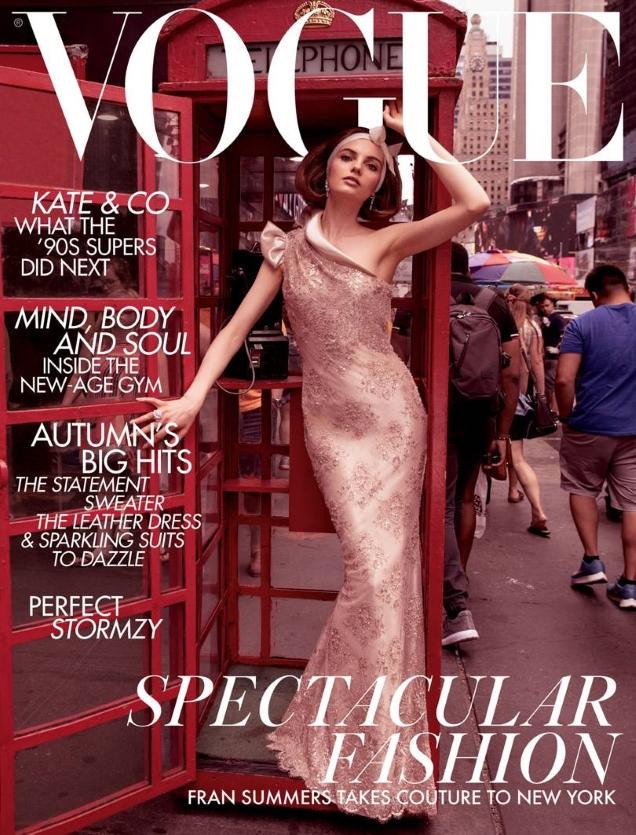 UK Vogue November 2018 : Fran Summers by Inez van Lamsweerde & Vinoodh Matadin
