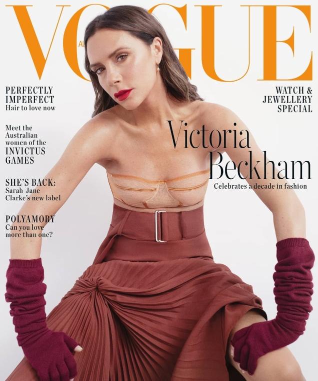 Vogue Australia November 2018 : Victoria Beckham by Bibi Cornejo Borthwick
