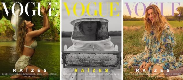 Vogue Brazil October 2018 : Gisele Bündchen by Zee Nunes