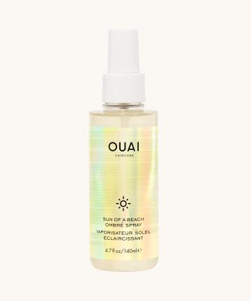 Ouai  10 Hair Tinting Products for a No-Risk, Temporary Color Boost ouai sun of a beach ombre spray color depositing hair care
