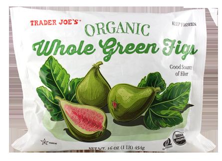 Organic Whole Green Figs