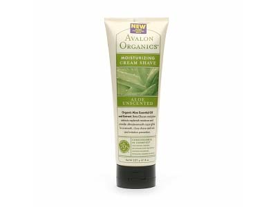 Avalon Organics Moisturizing Cream Shave