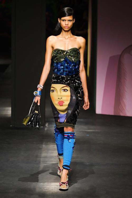 Prada's Collection Kicks-Ass