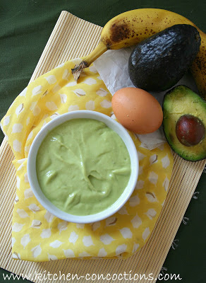 Whipped Avocado, Honey and Olive Oil
