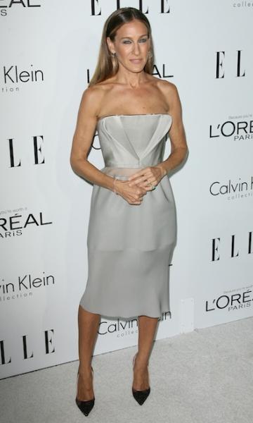 Sarah Jessica Parker in Calvin Klein