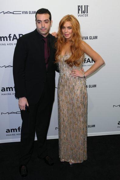 Mohammed Al Turki and Lindsay Lohan in Theia