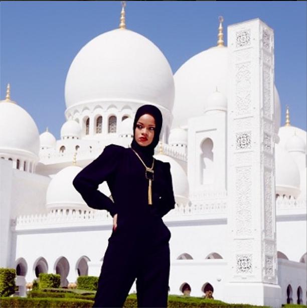 Rihanna's Mosque Problem