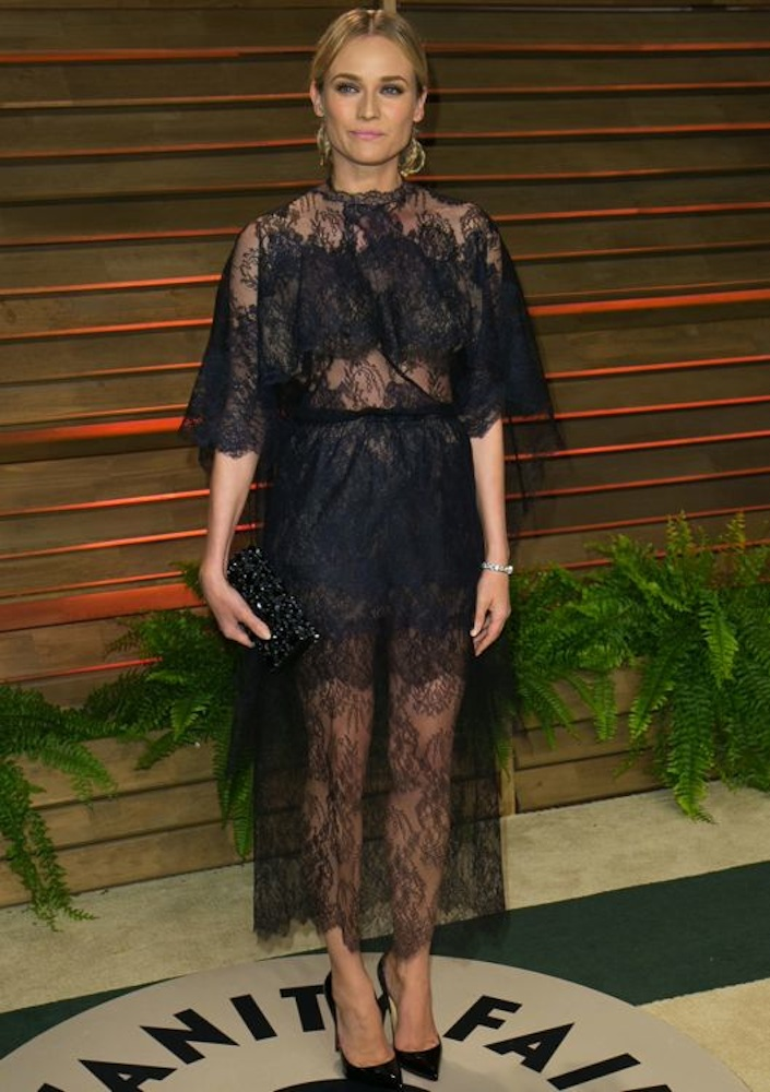 Diane Kruger at the 2014 Vanity Fair Oscar Party