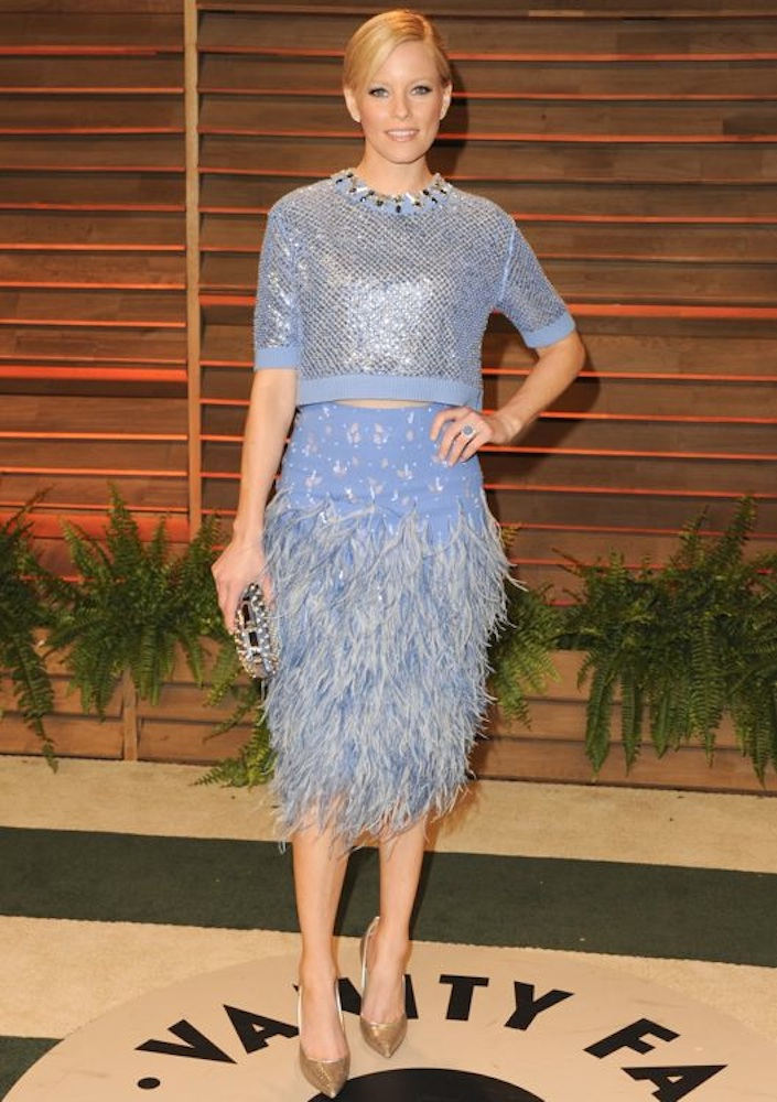 Elizabeth Banks at the 2014 Vanity Fair Oscar Party