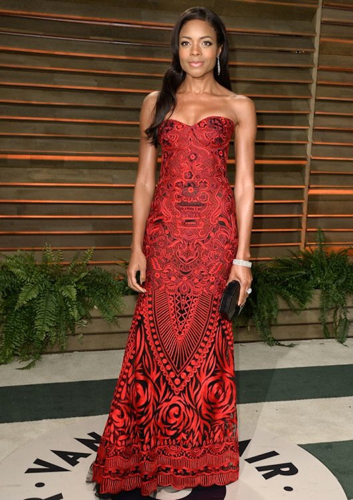Naomie Harris at the 2014 Vanity Fair Oscar Party