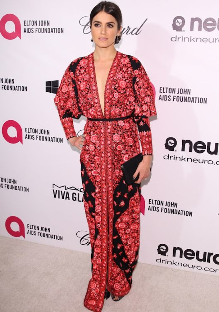 Nikki Reed at the 22nd Annual Elton John AIDS Foundation Academy Awards Viewing Party