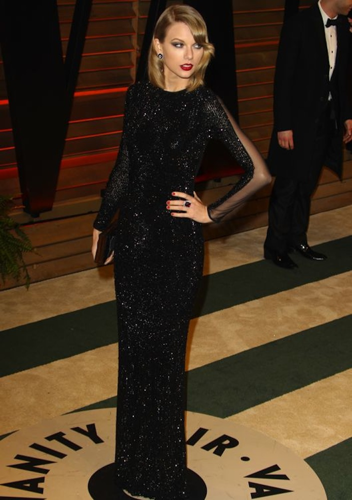 Taylor Swift at the 2014 Vanity Fair Oscar Party
