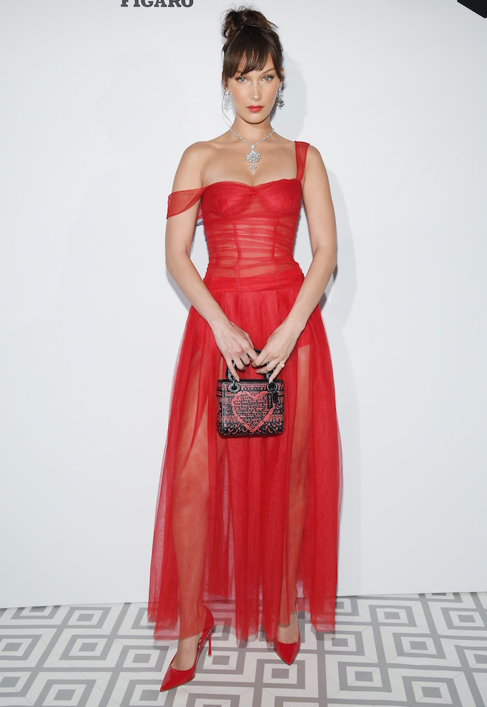 Bella Hadid at the Dior Dinner