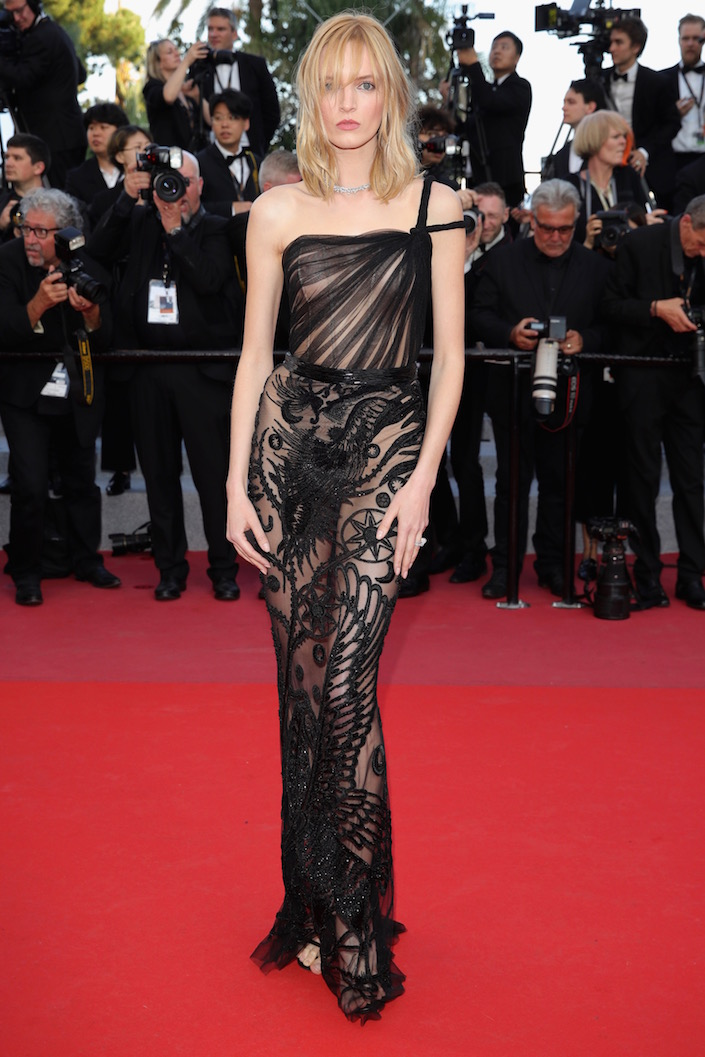 Daria Strokous at the Premiere of Ash Is Purest White