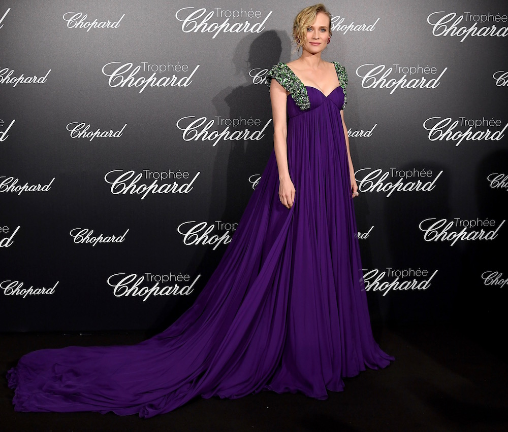 Diane Kruger at the Trophée Chopard Ceremony