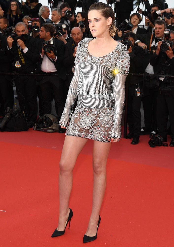 Kristen Stewart at the Premiere of BlacKkKlansman