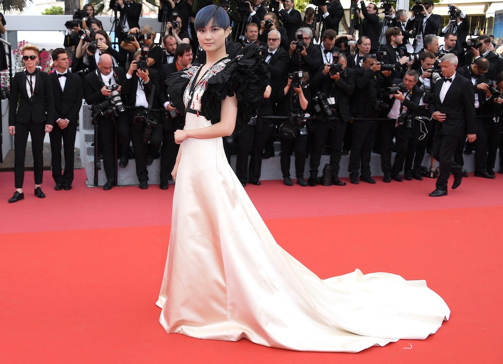 Li Yuchun at the Opening Gala and Premiere of Everybody Knows