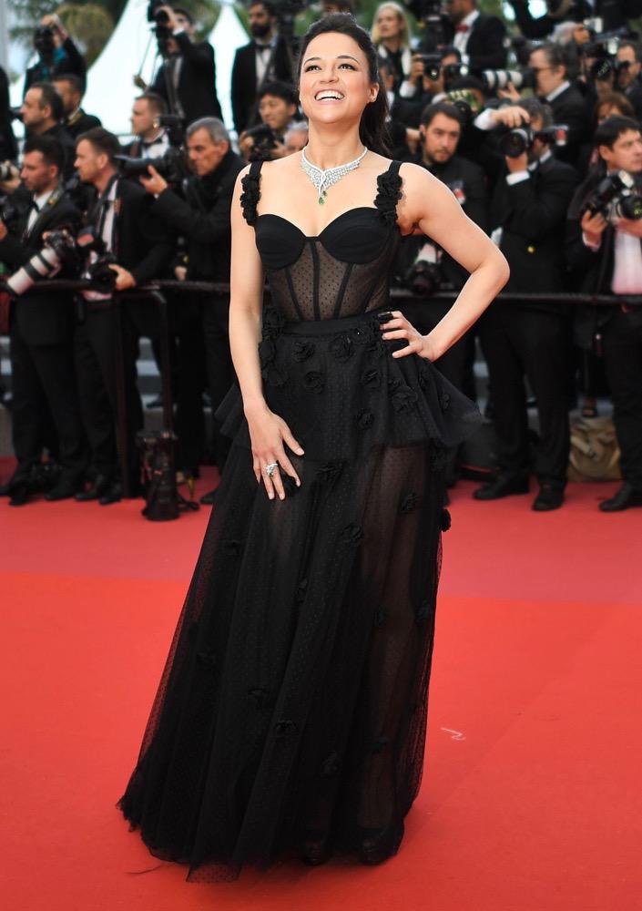 Michelle Rodriguez at the Premiere of BlacKkKlansman