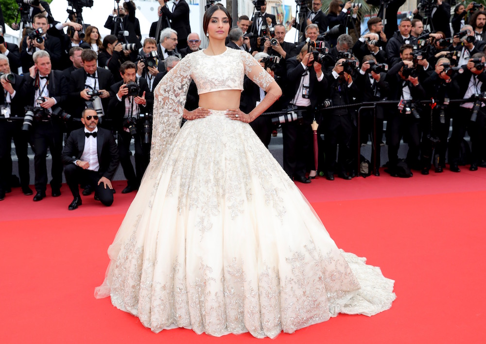 Sonam Kapoor at the Premiere of BlacKkKlansman
