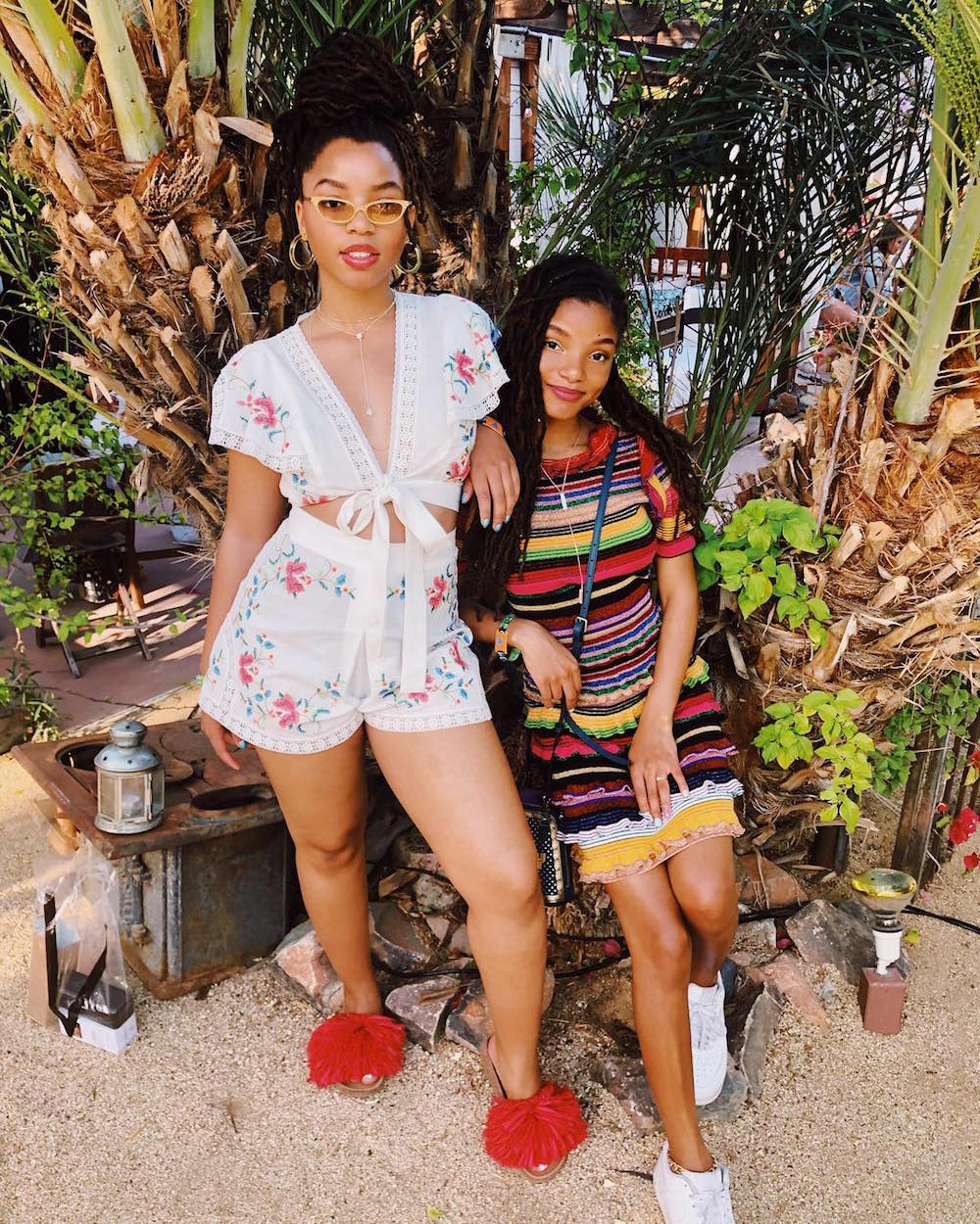 Chloe and Halle Bailey, Weekend 1, Day 1