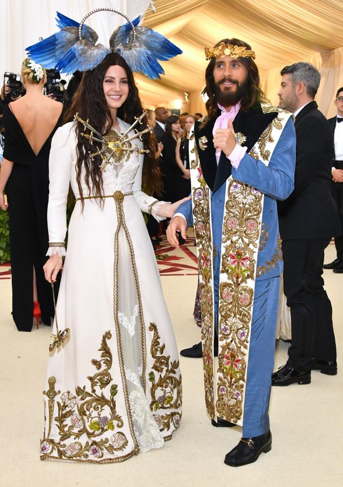 Lana Del Rey and Jared Leto