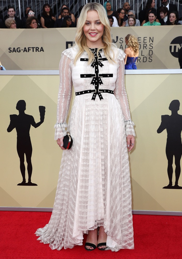 Abbie Cornish  All the Glitz and Glamour From the 2018 SAG Awards Red Carpet Abbie Cornish 2018 SAG Awards