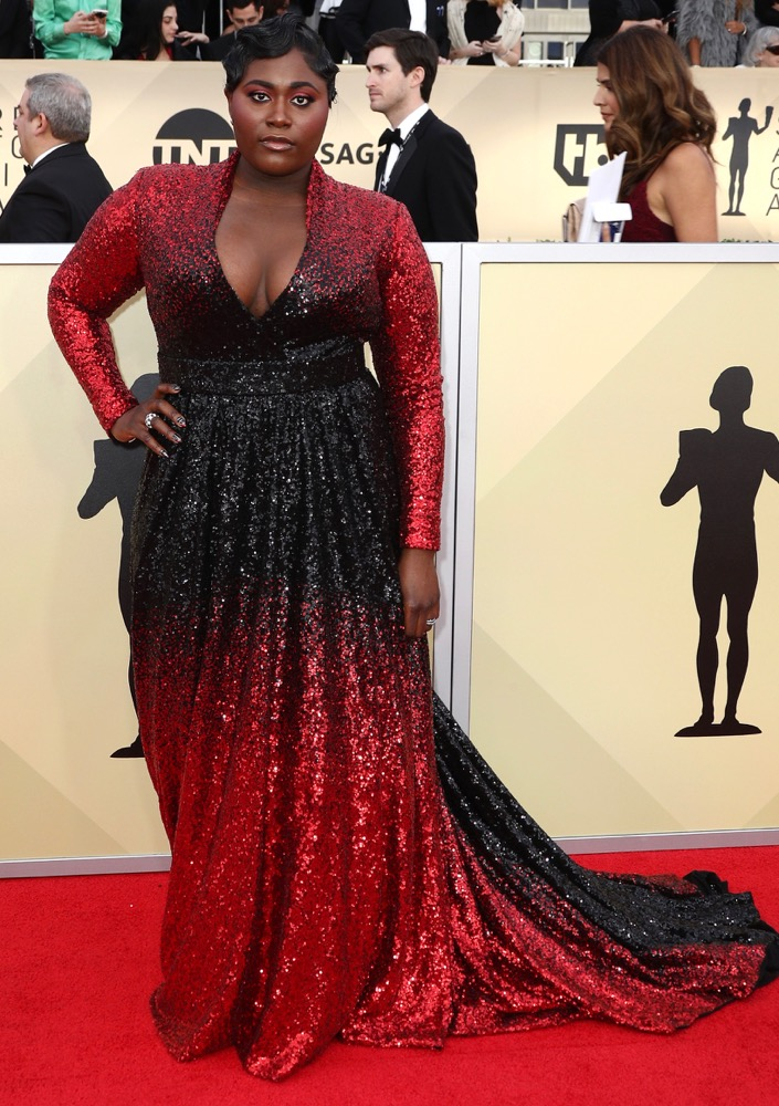 Danielle Brooks  All the Glitz and Glamour From the 2018 SAG Awards Red Carpet Danielle Brooks 2018 SAG Awards