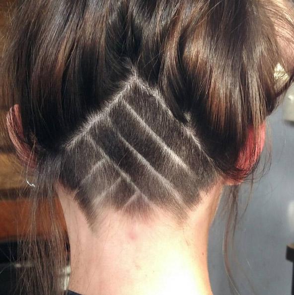 Shaved Hair Pattern Designs