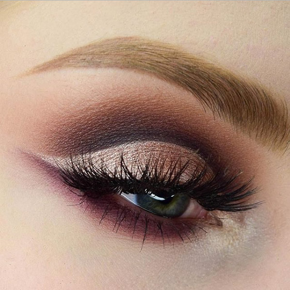 Tired Of Smoky Eyes Try Cut Crease Eye Makeup Instead Thefashionspot