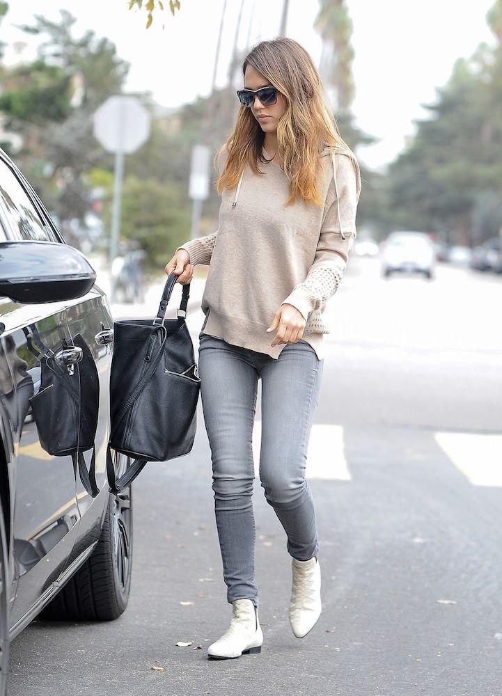 34 Reasons Jessica Alba Wins at Street Style - theFashionSpot