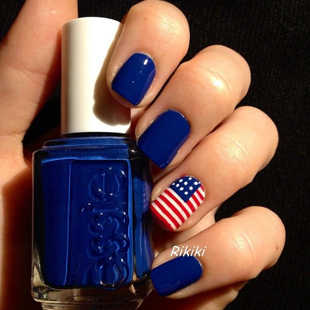 4th Of July Nail Art Ideas Thefashionspot