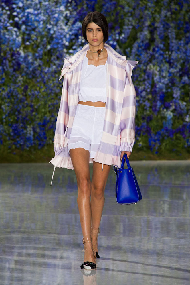 Stripes: Christian Dior Spring 2016