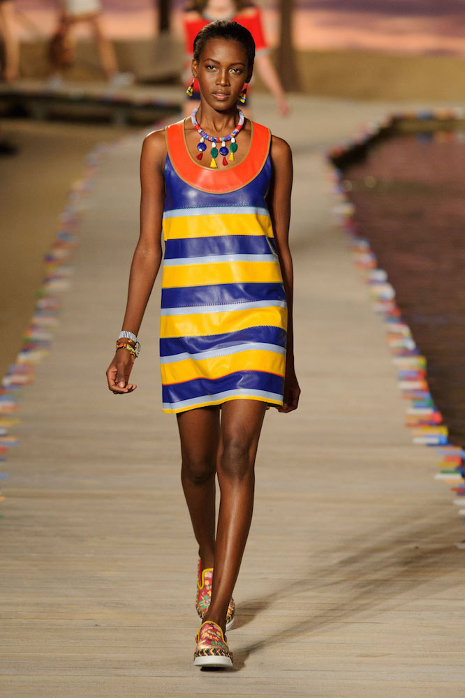 Stripes: Tommy Hilfiger Spring 2016
