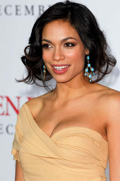 Rosario Dawson's Faux Bob