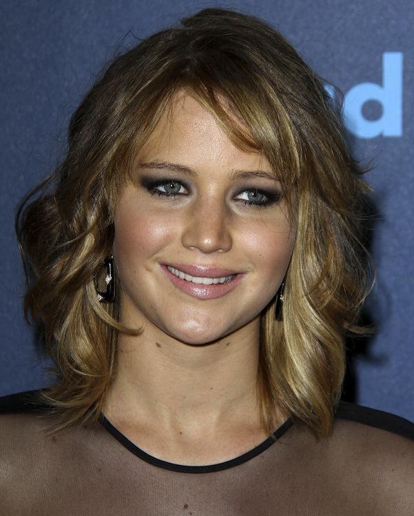 Jennifer Lawrence's Slightly Tousled Bob