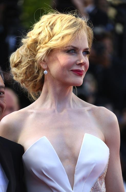 Nicole Kidman's Grecian Updo