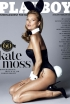 Kate Moss Poses for Playboy