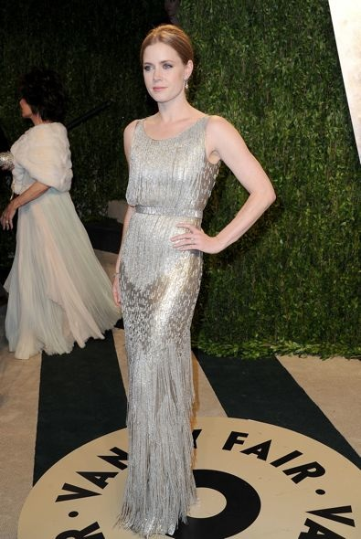 Amy Adams at the 2013 Vanity Fair Oscar Party