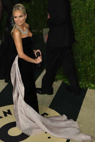 Kristin Chenoweth at the 2013 Vanity Fair Oscar Party